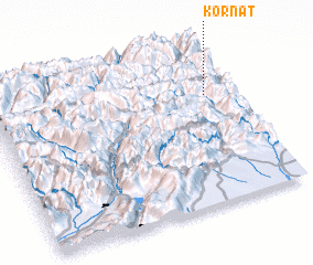 3d view of Kornat
