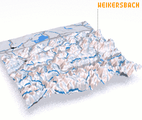 3d view of Weikersbach