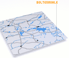 3d view of Boltenmühle