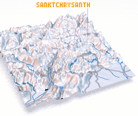 3d view of Sankt Chrysanth