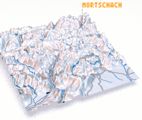 3d view of Mörtschach