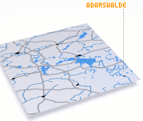 3d view of Adamswalde