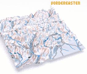 3d view of Vordere Asten