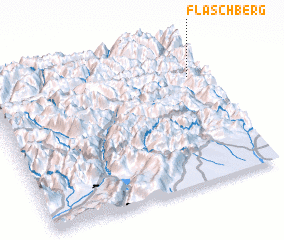 3d view of Flaschberg