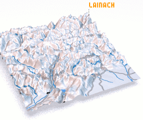 3d view of Lainach