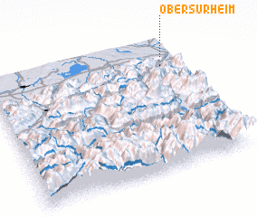 3d view of Obersurheim