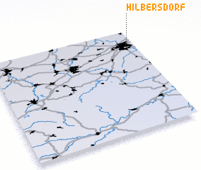 3d view of Hilbersdorf
