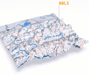 3d view of Wals