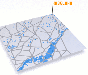 3d view of Kabélawa