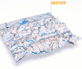 3d view of Gastein