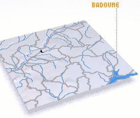 3d view of Badoumé