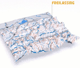 3d view of Freilassing