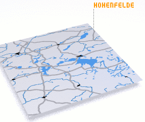 3d view of Hohenfelde