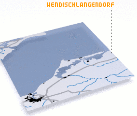 3d view of Wendisch Langendorf