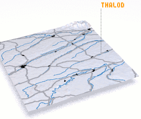 3d view of Thalöd