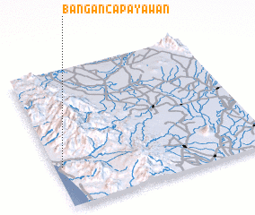 3d view of Bañgan-Capayawan