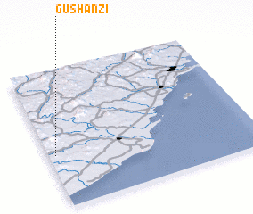 3d view of Gushanzi