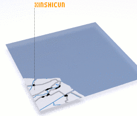 3d view of Xinshicun