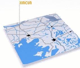 3d view of Xincun