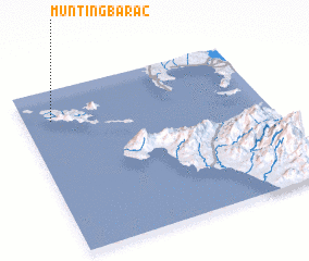 3d view of Munting Barac