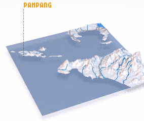 3d view of Pampang