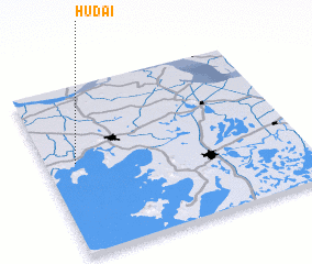 3d view of Hudai