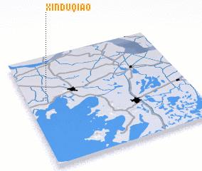 3d view of Xinduqiao