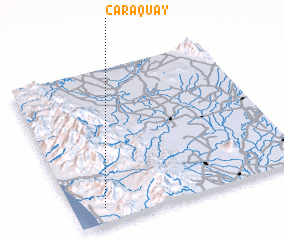 3d view of Caraquay