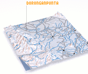 3d view of Dorongan Punta