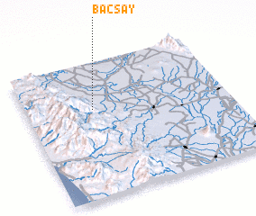3d view of Bacsay