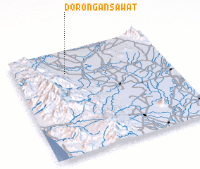 3d view of Dorongan Sawat