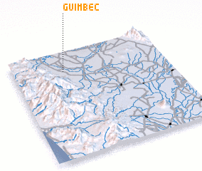 3d view of Guimbec