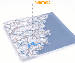 3d view of Majiayang