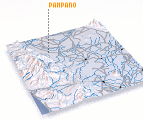3d view of Pampano