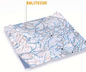 3d view of Balite Sur