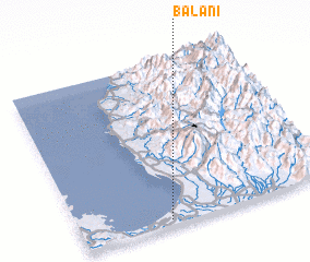 3d view of Balani
