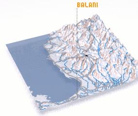 3d view of Balani
