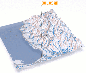3d view of Bolosan