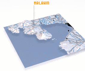 3d view of Malawin