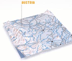 3d view of Austria