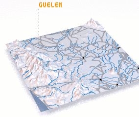 3d view of Guelem