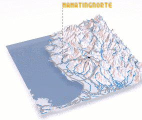 3d view of Mamat-ing Norte