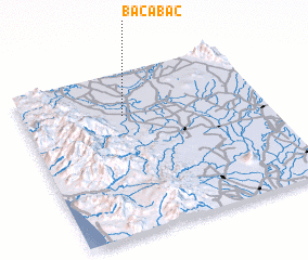 3d view of Bacabac