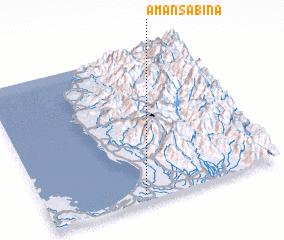 3d view of Amansabina