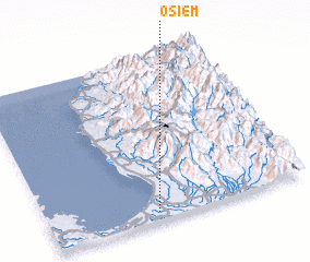3d view of Osiem