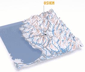 3d view of Osiem