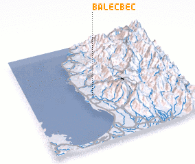 3d view of Balecbec