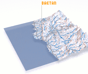 3d view of Baetan