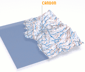 3d view of Candon