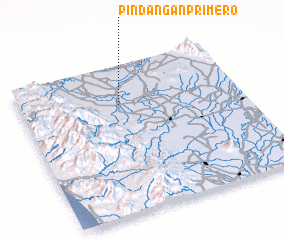 3d view of Pindañgan Primero